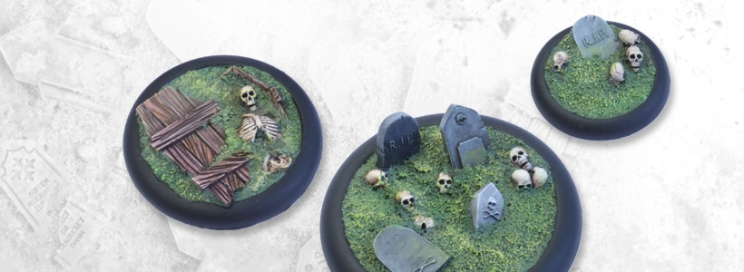 Undead Ground Miniature Bases