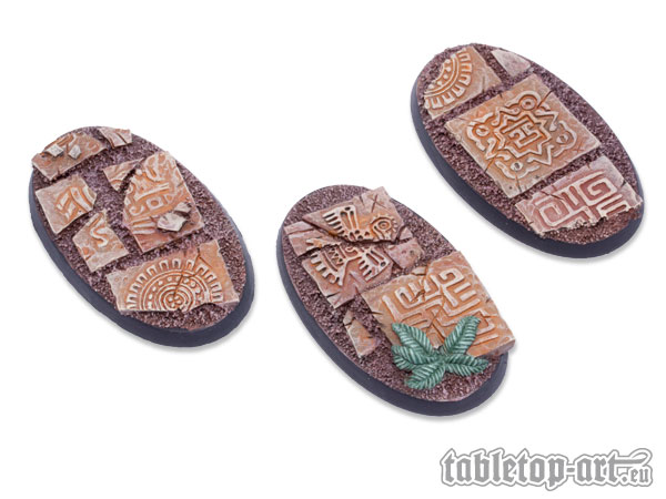 Lizard City Bases - 60mm Oval