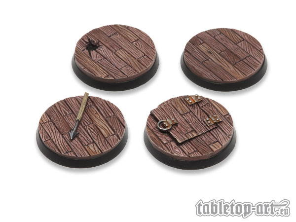 Pirate Ship 40mm Bases