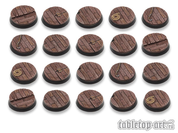 Pirate Ship 32mm Bases
