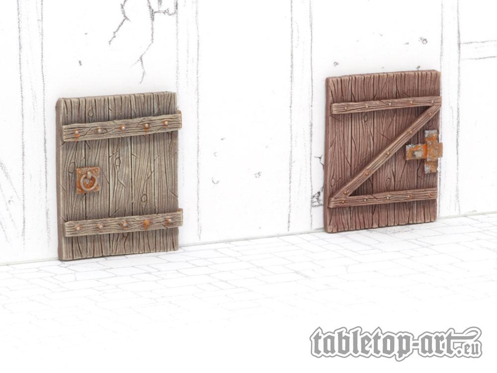 Gelände Bauteile - Türen Set 3 (4)