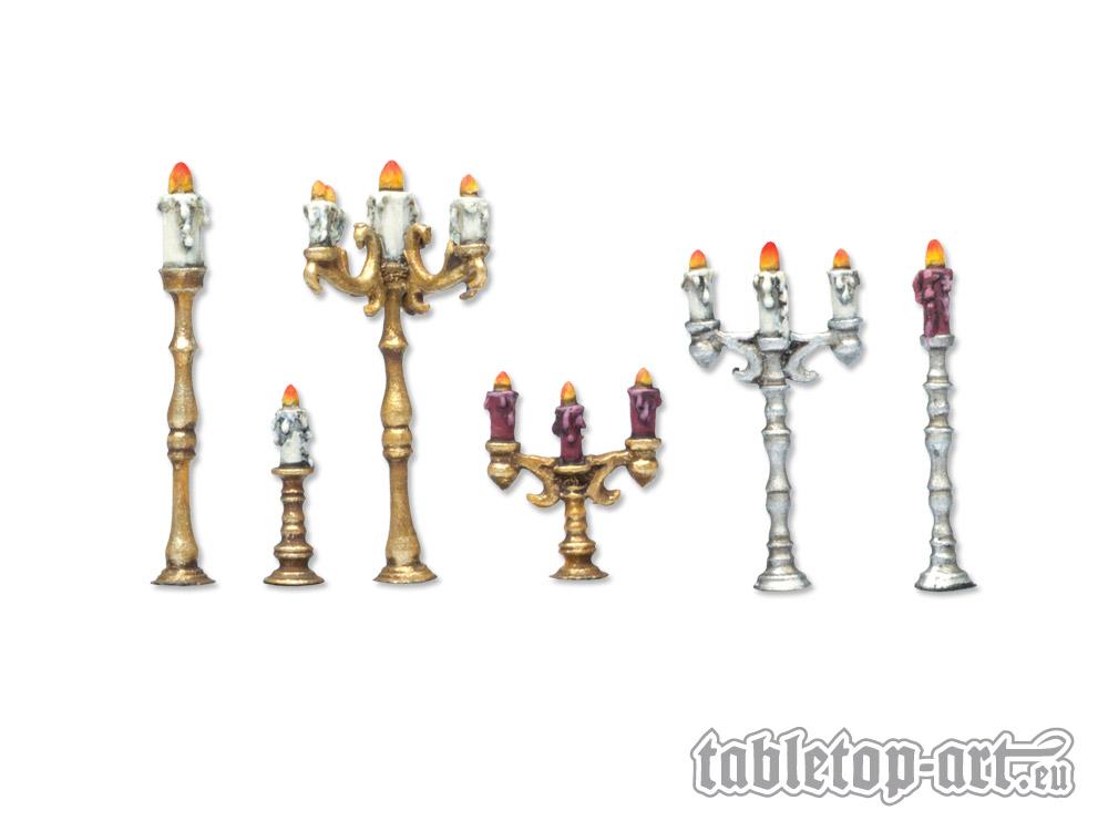 Kerzenständer Bausatz 1