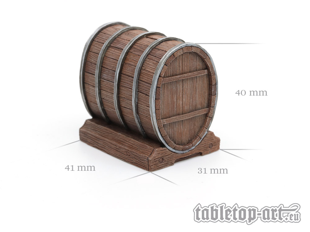 Wine Barrel Set 1