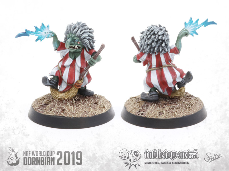Blood Bowl Goblin Team Wizard