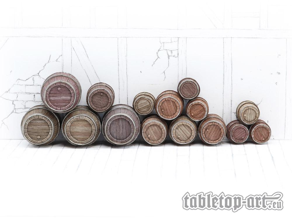 Wooden Barrels Sets