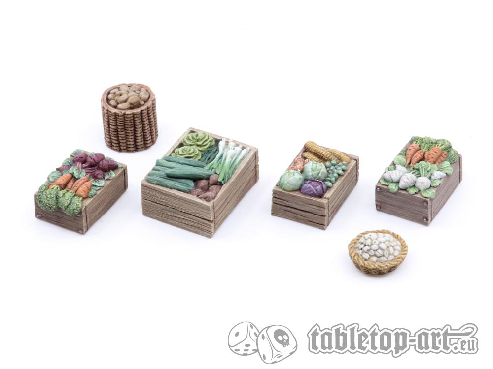 Gemüsehändler Set 1