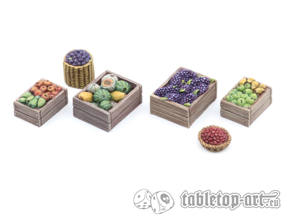 Obsthändler Set 1