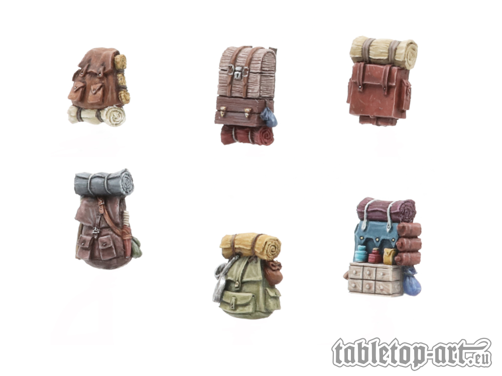 Adventurer backpacks - Set 1