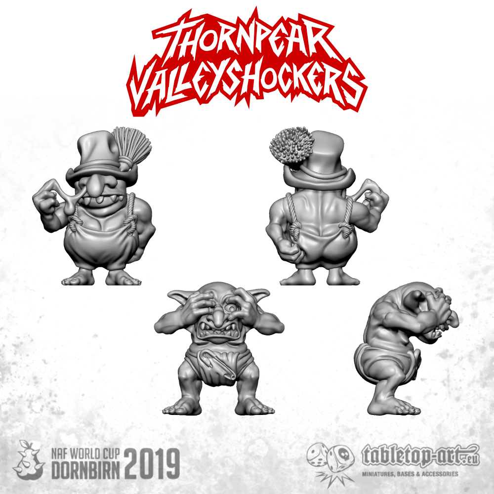 Thornpear Valleyshockers upgrade set