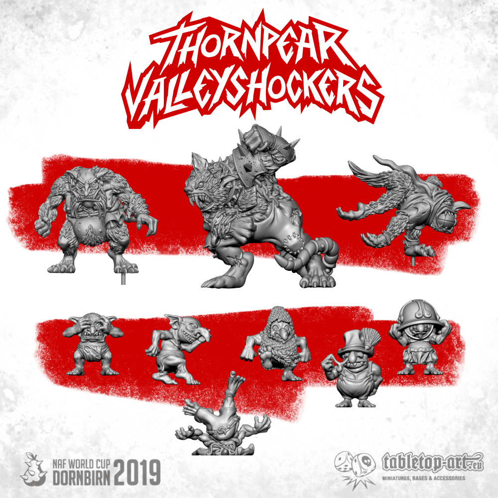 upgrade set thornier valley shockers