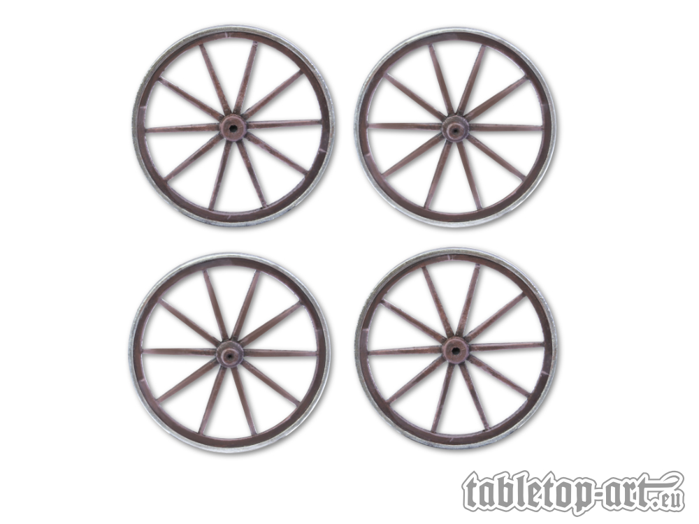 Cart Wheels Set