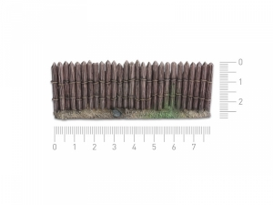 Wooden stockade - 28mm