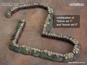 Trench Set 1 | 15mm