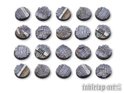 Dirty Old Town Bases - 25mm DEAL (20)