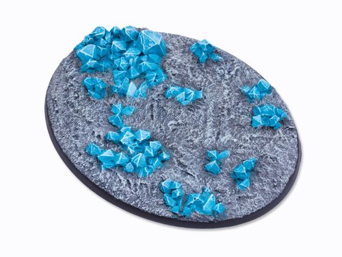 Crystal Field Bases - 120mm Oval 1