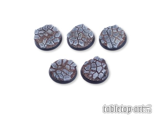 Cobblestone Bases - 32mm (5)