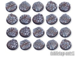 Cobblestone Bases - 32mm DEAL (20)