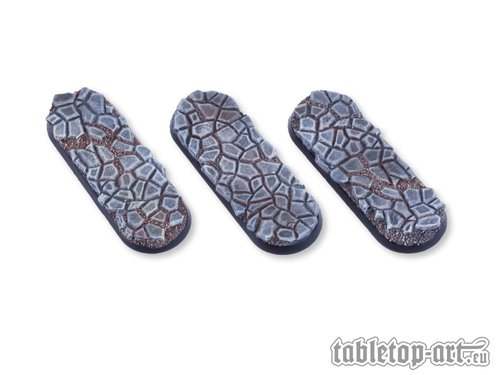 Cobblestone Bases - 25x70mm (3)