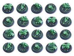 Crystal Tech Bases - 32mm DEAL (20)
