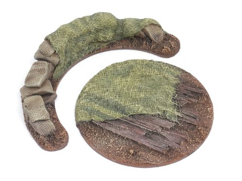 War Contraption Bases - 64mm Sandsack position - 2