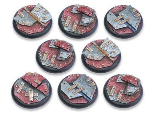 Scrap Steel Bases - 40mm RL DEAL (8)