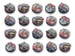 Scrap Steel Bases - 25mm DEAL (20)