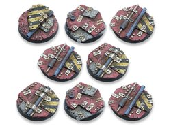 Scrap Steel Bases - 40mm DEAL (8)