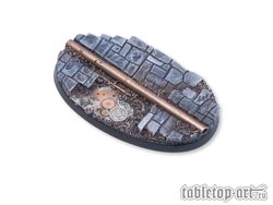 Ancient Machinery Bases - 75mm Oval 1