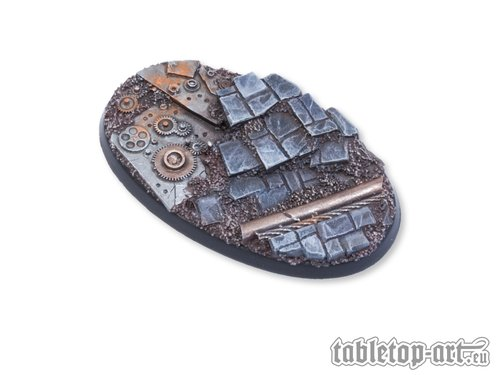 Ancient Machinery Bases - 75mm Oval 2