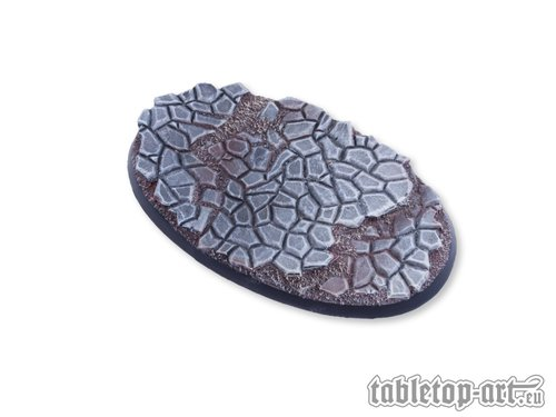 Cobblestone Bases - 90mm Oval 1