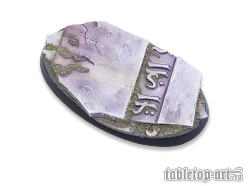Ancestral Ruins Bases - 75mm Oval 2