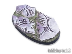 Ancestral Ruins Bases - 75mm Oval 3