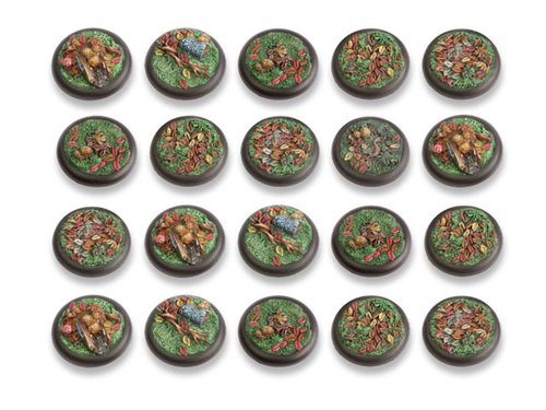Woodland Bases - 30mm RL DEAL (20)