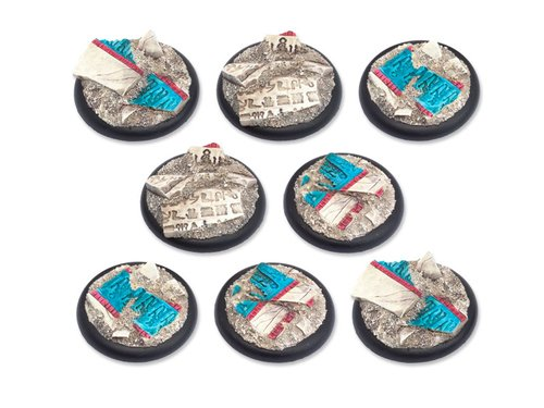 Temple of Isis Bases - 40mm RL DEAL (8)
