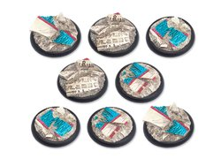 Temple of Isis Bases - 40mm RL DEAL
