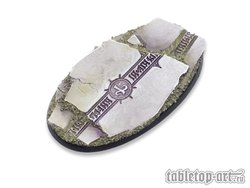 Ancestral Ruins Bases - 90mm Oval 1