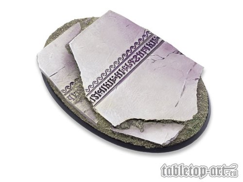 Ancestral Ruins Bases - 105mm Oval 1