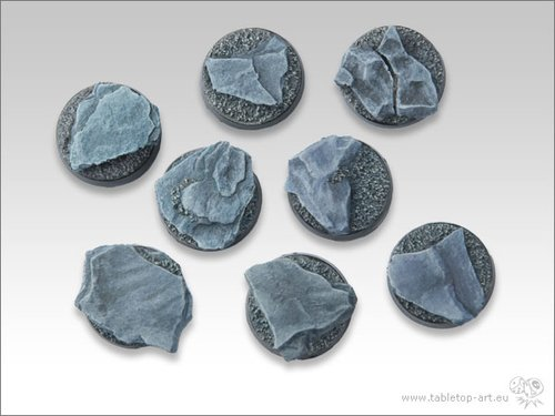 Shaleground Bases - 25mm (5)