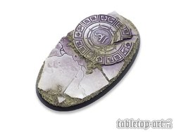 Ancestral Ruins Bases - 90mm Oval 2