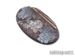 Ancient Machinery Bases - 90mm Oval 1