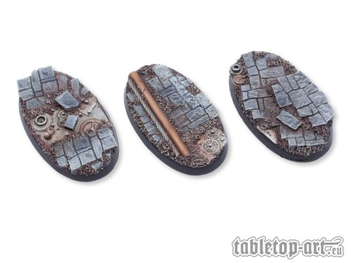 Ancient Machinery Bases - 60mm Oval (3)