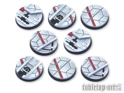 Starship Bases - 40mm DEAL (8)