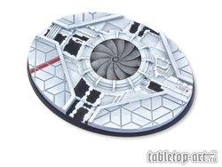 Starship Bases - 120mm Oval