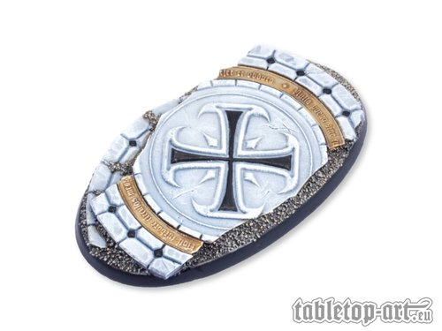 Ruins of Sanctuary Bases - 90mm Oval 2