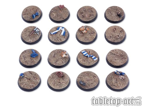 Bloody Sports - Muddy Pitch Bases DEAL - 32mm (16)
