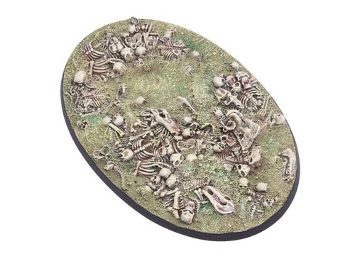 Bonefield Bases - 105mm Oval 1