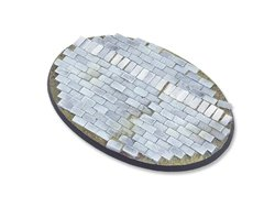 Flagstone Bases - 105mm Oval 1