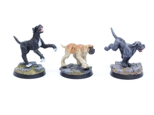 Dogs Set 2 - Mastiffs