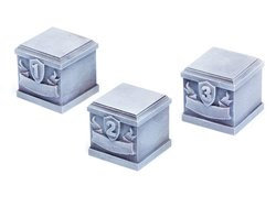 Bases / Plinths set 1 - 25x25x25mm