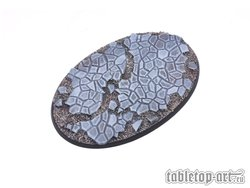 Cobblestone Bases - 105mm Oval 1